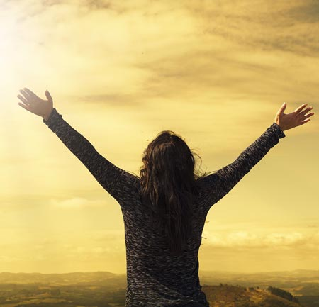 Gebete und Gebetshaltung